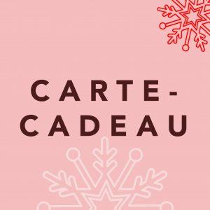 CARTE- CADEAU
