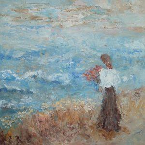 Le ciel se marie avec la mer - Micheline Brazeau