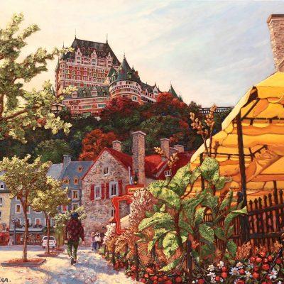 Fin d'été sous le château-10 - Josee Tellier